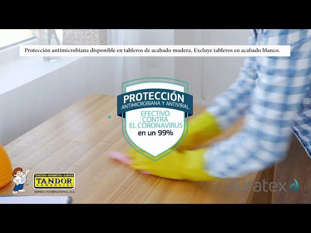 Tableros Duratex - protección antimicrobiana