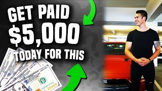 GET PAID $5000 Today For This Business