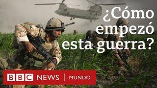 Cómo empezó la guerra de EE.UU. en Afganistán hace 18 años y por qué aún no ha terminado | BBC Mundo