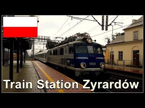 Train Station Żyrardów. Poland 2017