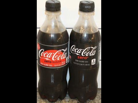 Coca-Cola Zero (Coke Zero) vs Coca-Cola Zero Sugar Comparison