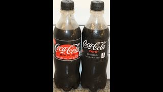In this video, we are comparing Coca-Cola Zero to the new Coca-Cola...