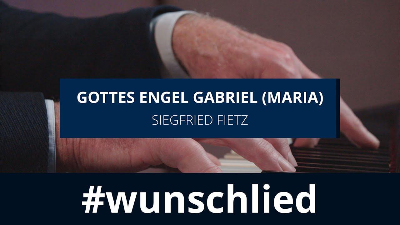 Siegfried Fietz sing 'Gottes Engel Gabriel (Maria)' #wunschlied