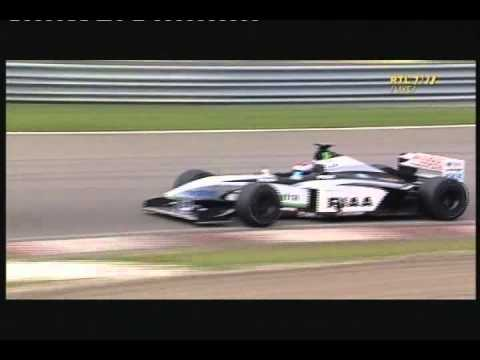 Former F1 driver Jos Verstappen gives F1 demo in Tyrrell F1 car!!