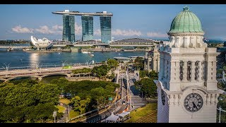 Singapore Drone Aerial