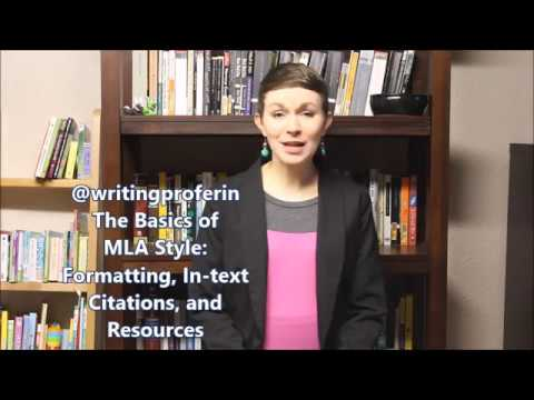 MLA Style In-text Citations