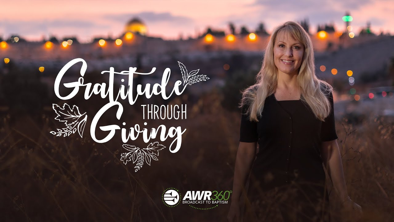 video thumbnail for Gratitude Through Giving | AWR360°