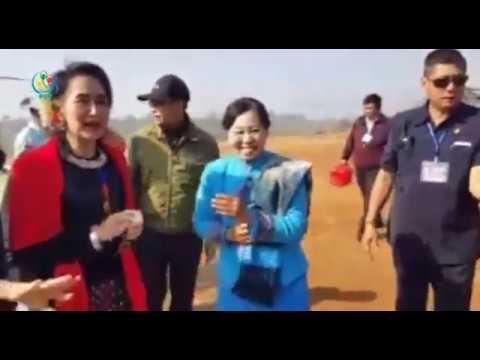 DVB - Daw Aung San Suu Kyi attends 70th Union Day at Panglong