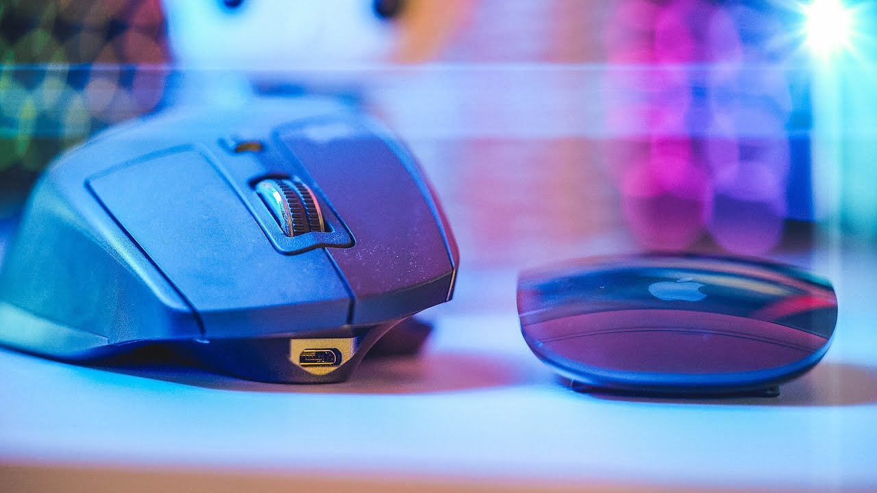 Space Grey Magic Mouse 2 vs Logitech MX Master 2S: Best Editing Mouse 2018