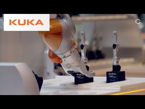 Easy Industry 4.0 - KUKA Smart Factory @ Hannover Fair 2018