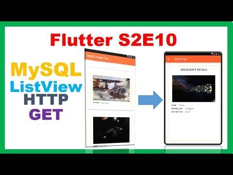 Flutter MySQL → Flutter PHP MySQL – Fill ListView with