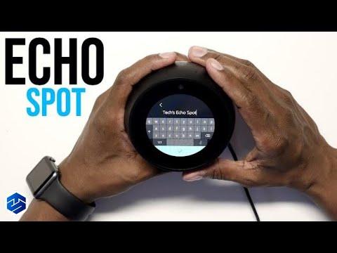 Amazon Echo Spot Setup