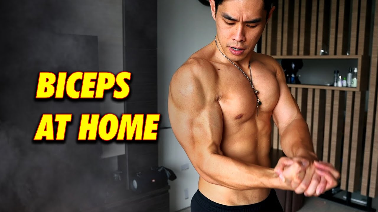 6 Biceps Workout At Home (Gym & No Gym)