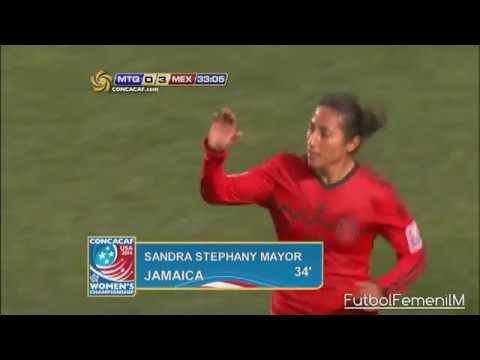 México Vs Martinica Premundial Femenil USA 2014