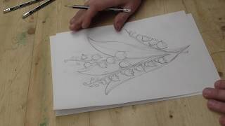 Панно рисунок, резьба по дереву