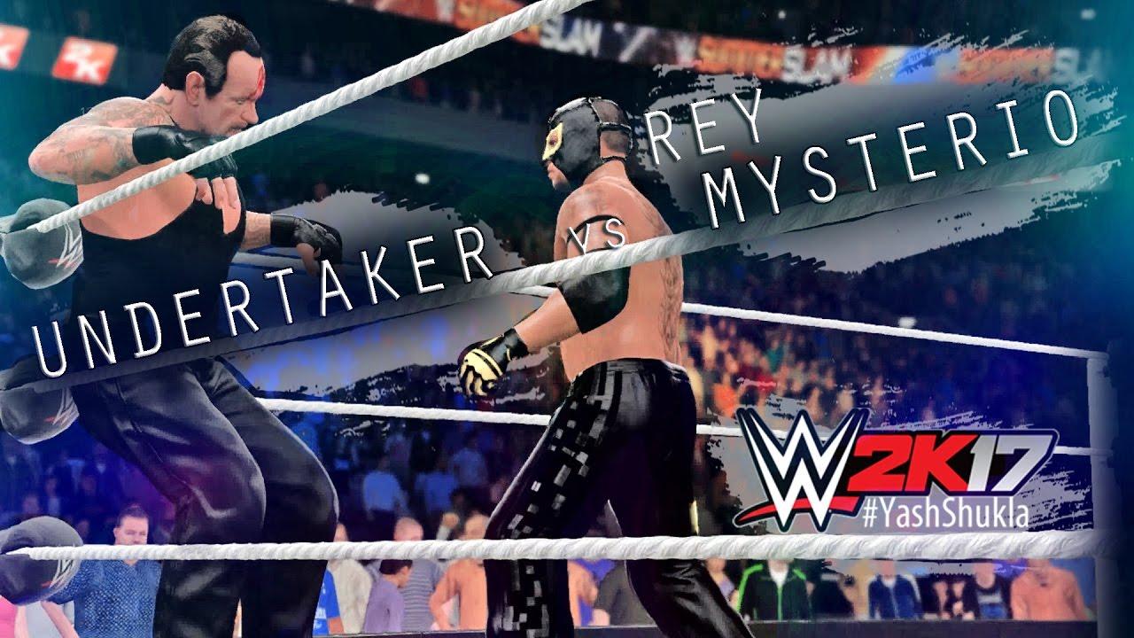 WWE 2K17 Rey Mysterio vs Undertaker | Feat. OMG MOVES ...