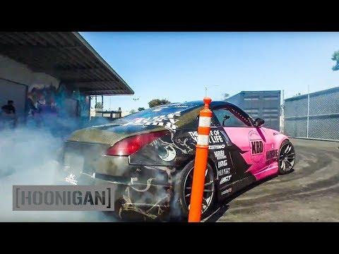 HOONIGAN DT 015: Rathyna's V8 350Z vs Roegge's S14 #CIRCLEJERKS