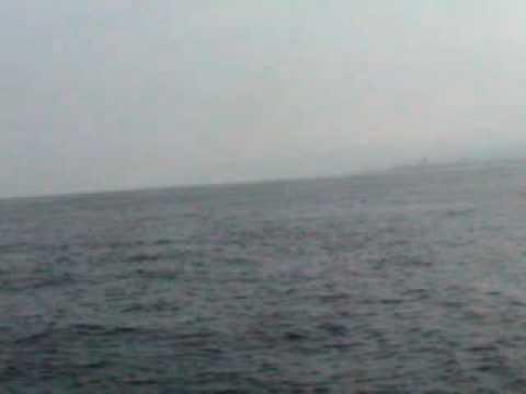 Approaching Reggio di Calabria in Strait of Messina
