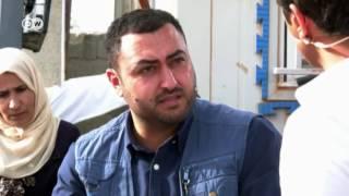 شاب سوري في مخيم الزعتري: