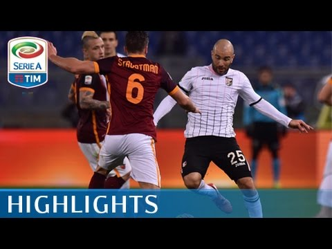Roma - Palermo - 5-0 - Highlights - Matchday 26 - Serie A TIM 2015/16