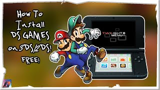 How To Install Ds Games On 3ds/2ds For Free!