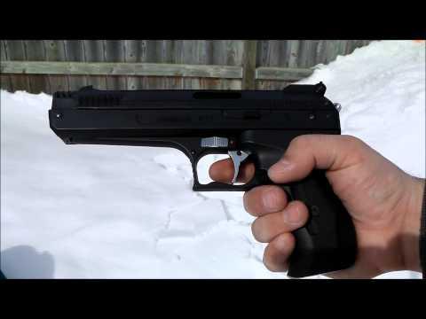 Beeman P17 Air Pistol Demo - POV