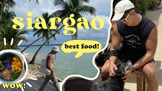 AMAZING food in Siargao! (2021)