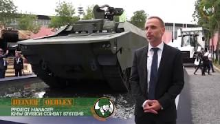 Rheinmetall Lynx KF41 IFV Command Post UGV Fletcher 70mm rocke…