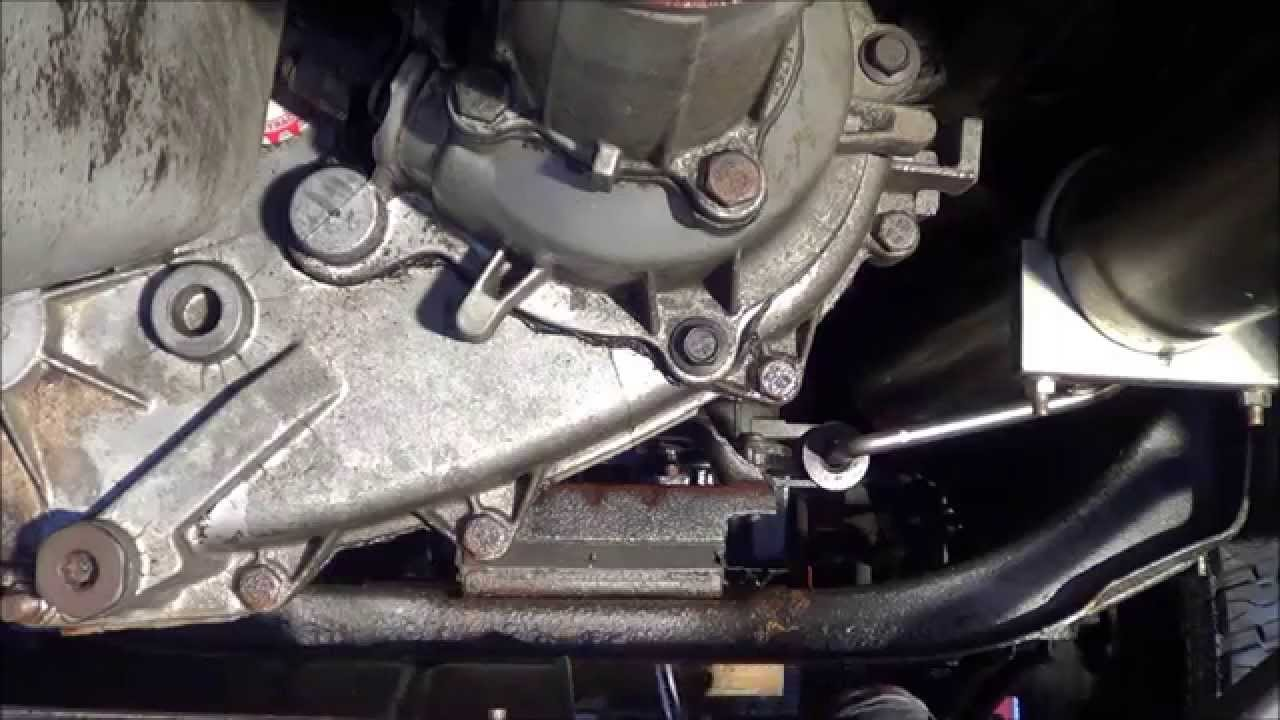 33014 how to replace transmission mount on Dodge Ram