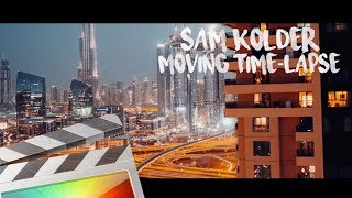 Moving Time-lapse Effect - Final Cut Pro X