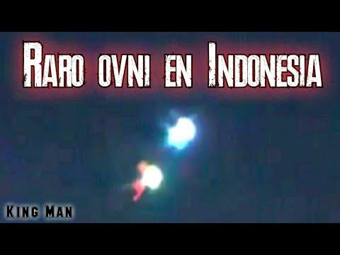 Aparece un extraño Ovni en Indonesia... 14/01/2021