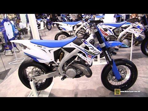 2015 TM Racing SMX 300 Super Motard Bike - Walkaround - 2014 EICMA Milan Motorcycle Exhibition