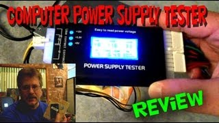 Computer Power Supply Tester with LCD Screen
