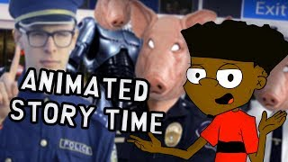 GOT CAUGHT STEALING AT WALMART | Animated Story Time!
