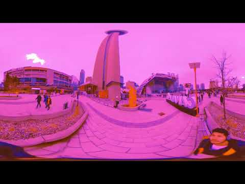 360 Psychedelic Narrative Story: Alex Cresswell In Downtown (ACID)