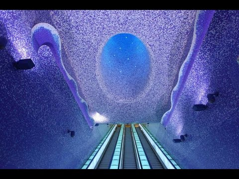 Most Beautiful Metro Stations In The World YouTube - The 12 most beautiful metro stations in the world