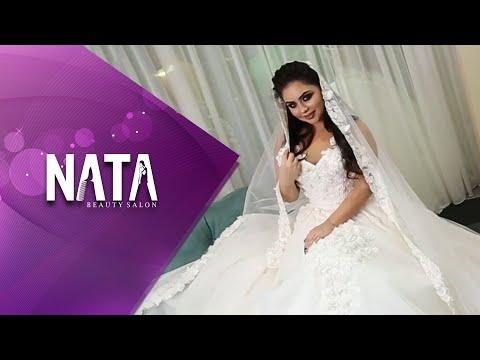 2018 də gözəl gəlin saçı makiajı və super gəlinlik │ Nata Studio vip