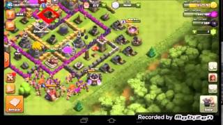 CLASH OF CLANS MY BASE TO GO!!??