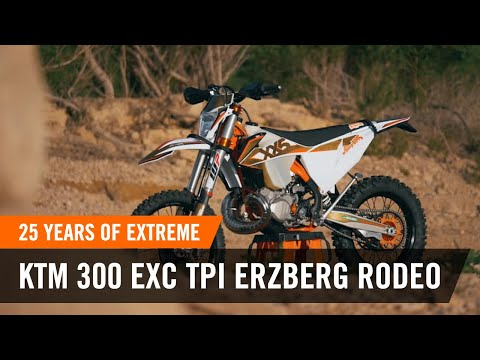 25 years of EXTREME - the KTM 300 EXC TPI ERZBERGRODEO 2020 | KTM