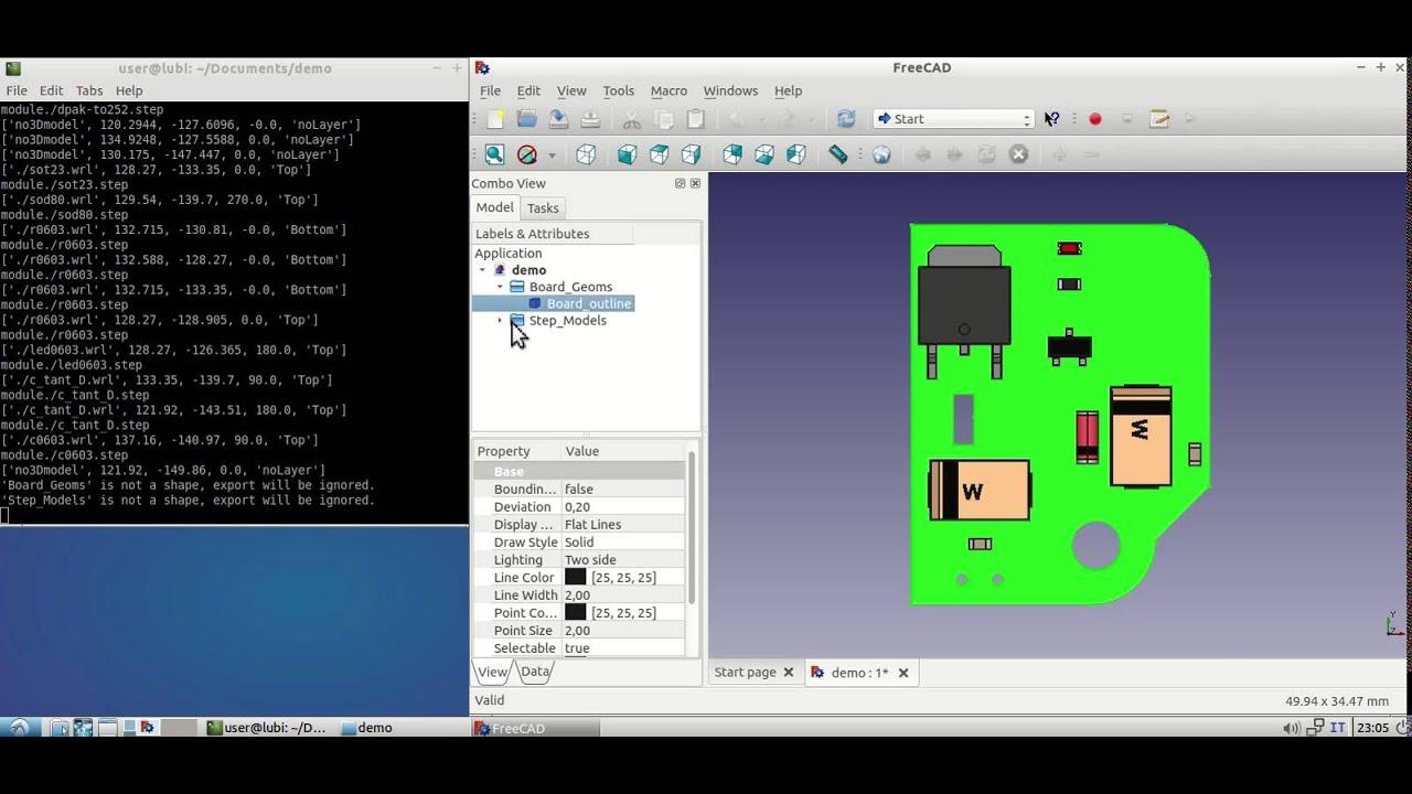 KiCad Script Hack For Better Mechanical CAD Export   Hackaday