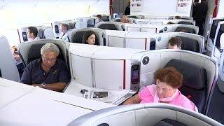 Air France relève le niveau en classe affaires - 25/06