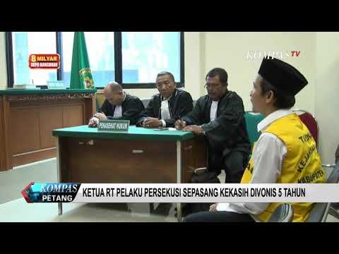 Ketua RT Yang Persekusi 2 Sejoli Di Cikupa Divonis 5 Tahun