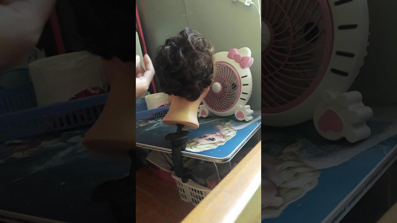 Búi tóc giả cho mẹ cô dâu mẹ chú rể