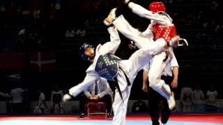 Highlights di Davide Spinosa. Campione del Mondo di Taekwondo!