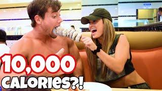Instagram Model Feeds Connor Murphy 10,000 Calories Challenge!