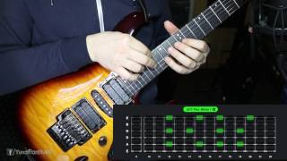 Guitar Session #4: Two-handed tapping pentatonic minor dive
