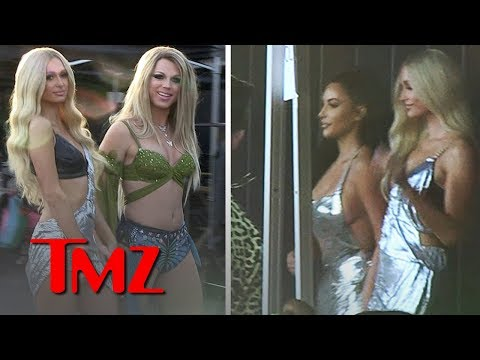 Kim Kardashian On Set for Paris Hilton's New Music Vid, 'Best Friend's Ass' | TMZ from YouTube · Duration:  1 minutes 28 seconds