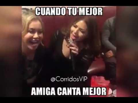 Amiga de Chiquis Rivera Canta Mejor Y La Pone En Verguenza