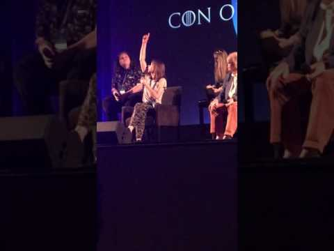 Game Of Thrones Stars Group Panel @ Con Of Thrones 2017