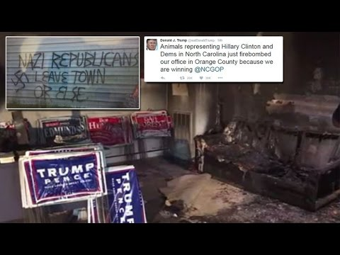 Image result for gop headquarters firebombed  you tube